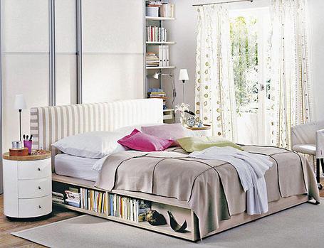 10 ideas para aprovechar el espacio en un dormitorio - Aprovechar espacio dormitorio ...