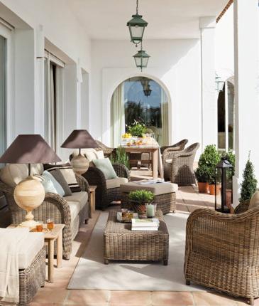 Fotos de terrazas y patios. Fotos, presupuesto e imagenes.